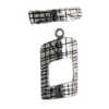 SS.925 Toggle Rectangle 20x12mm